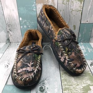 True Timber Camo Slippers Men's Size Small 7-8 NWT